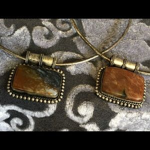 Jewelry - 2 Bestie stone necklaces